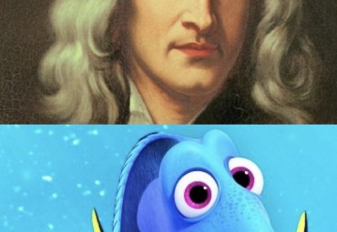 Finally accomplish your goals: With the help of Sir Isaac Newton and Dory from Finding Nemo